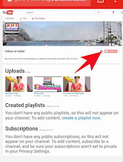 YouTube channel layout customize kese kare 2
