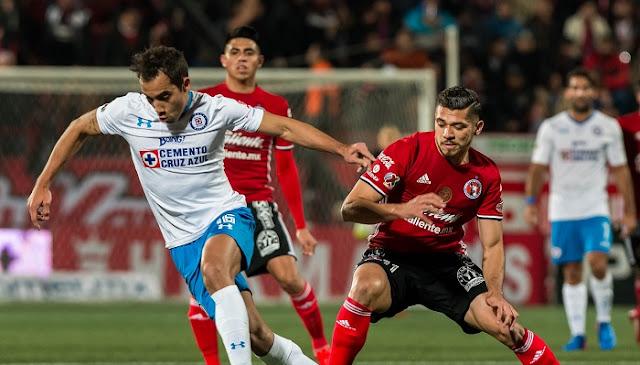 Tijuana vs Cruz Azul en vivo 21 Julio