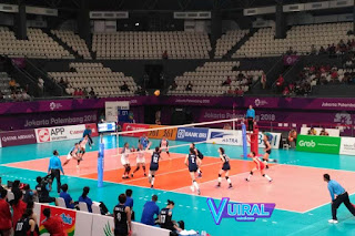 Contoh Gambar Lapangan Voli Indoor