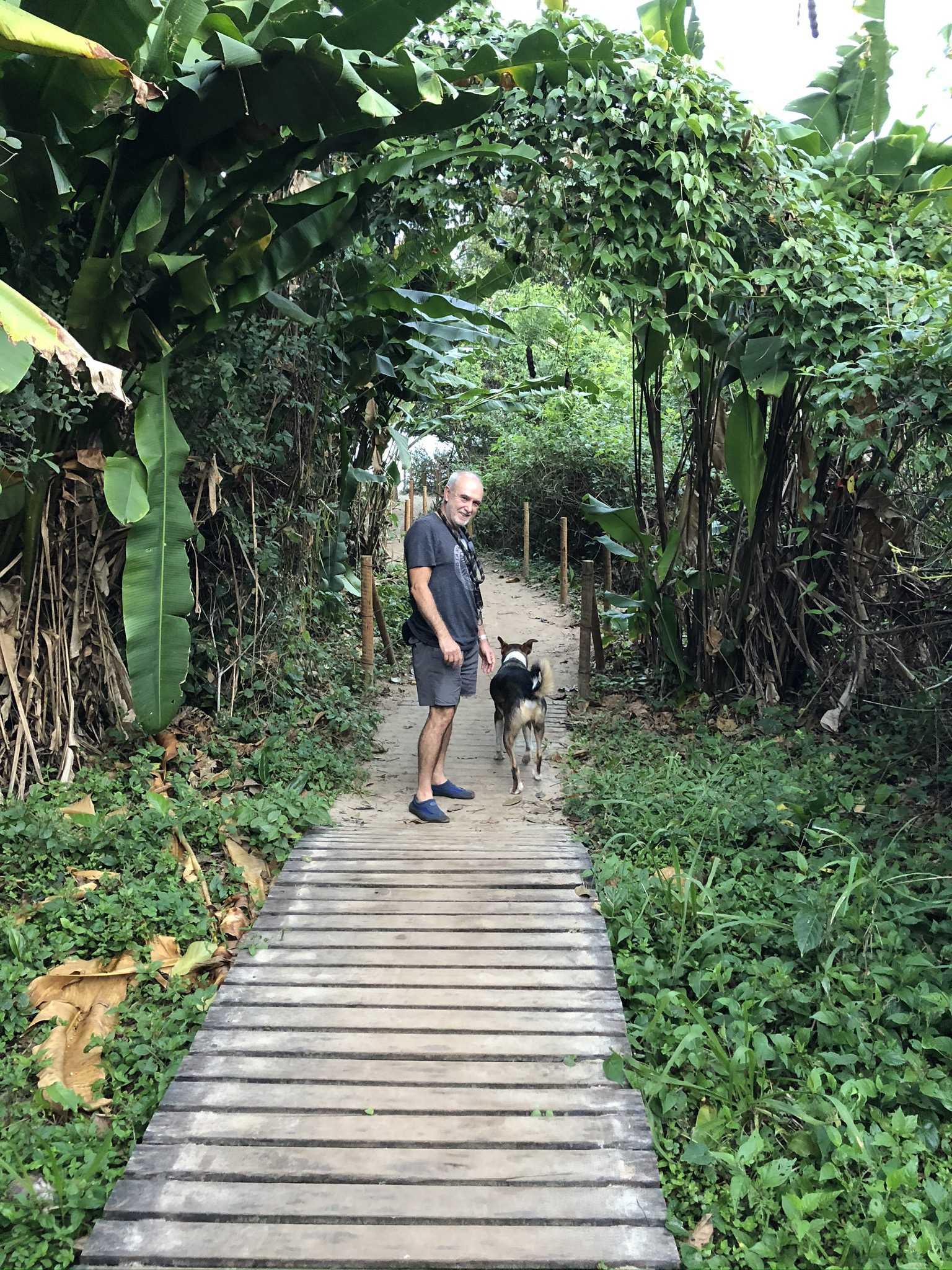 Caminho para Praia de Itamambuca