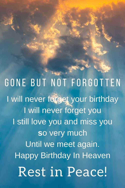Happy Birthday In Heaven Uncle