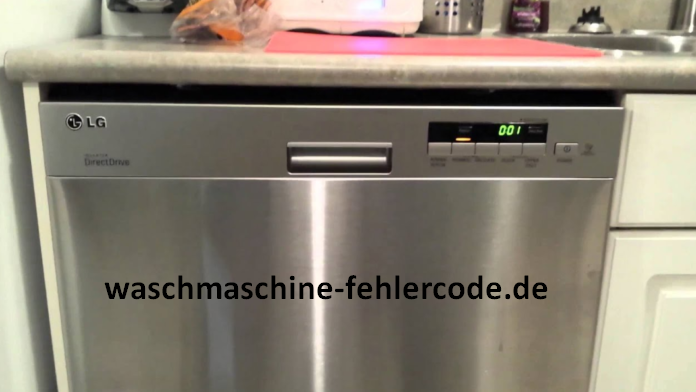 LG Geschirrspüler Fehlercode nE