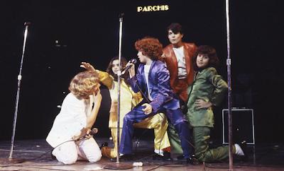 Grupo Parchís en actuación