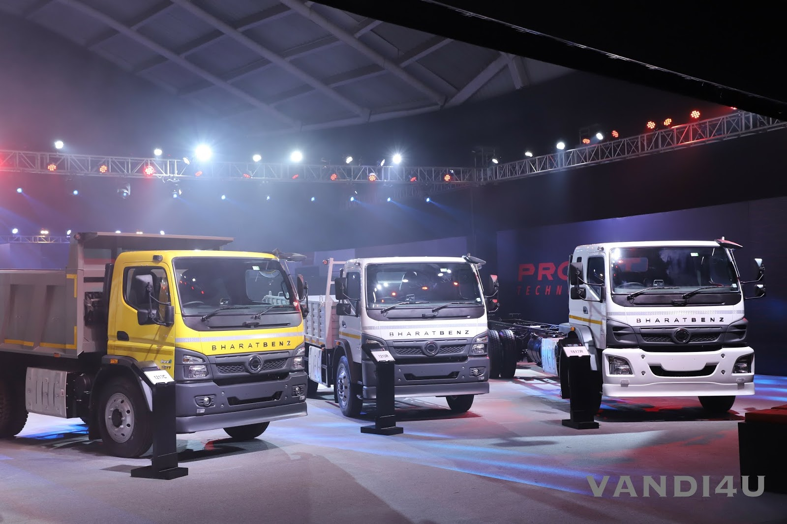 BharatBenz unveils all-new BS6 range of Trucks and Buses | VANDI4U