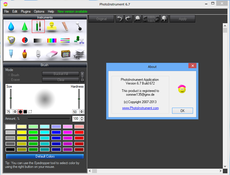 raster graphics editor