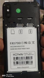 Hotwav trend flash file MT6580 100% tested By Rehan Telecom