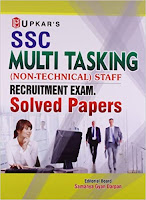SSC Multi Tasking Non-Technical Staff Recruitment Exam Solved Papers