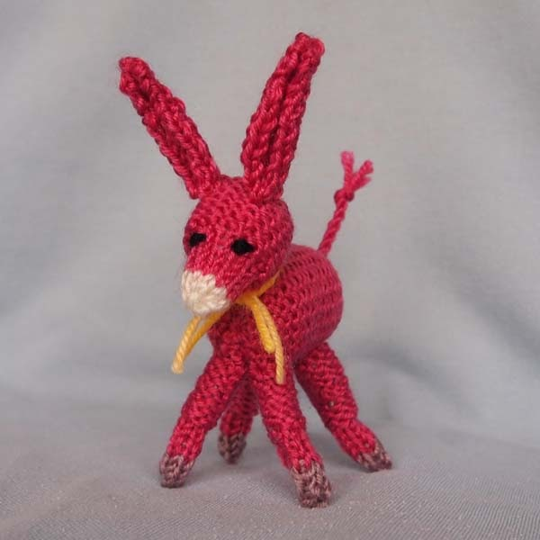 AmigurumiCat: 小毛驢 Mini Donkey