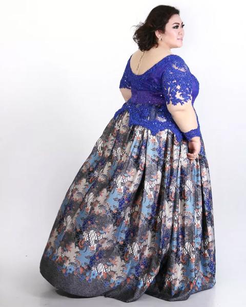 model baju kebaya untuk orang gemuk
