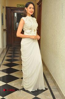 Actress Pragya Jaiswal Stills in Beautiful White Dress at turodu Audio Launch  0068.JPG