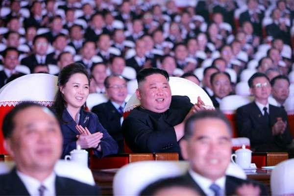 Kim Jong Un Watches Shining Star Day Celebration Performance
