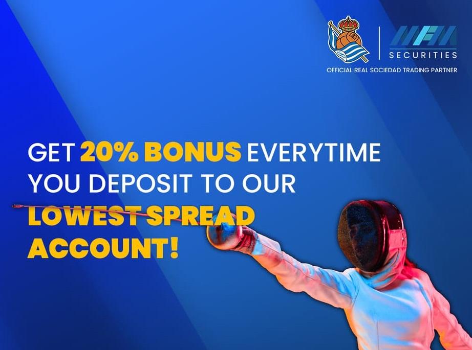 Bonus Deposit MFM Securities 20% - Tradable Bonus