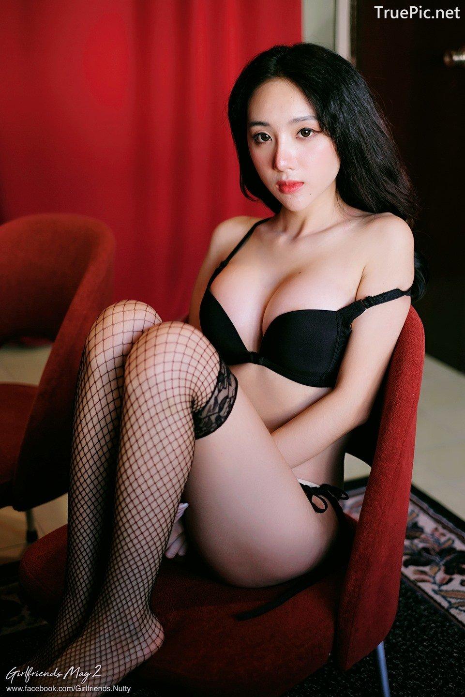 Image Thailand Model - Piyatida Rotjutharak - Black Lingerie - TruePic.net - Picture-5