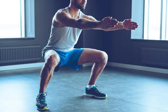 Lower back pain - deep squat