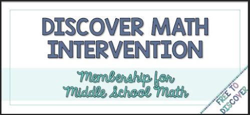 Discover Math Intervention Membership