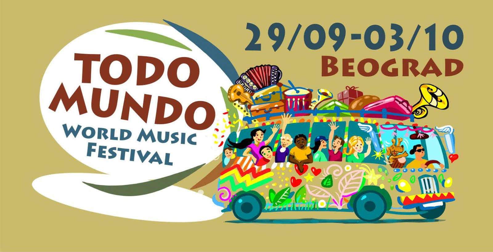 "VIII WORLD MUSIC FESTIVAL ""TODO MUNDO"""