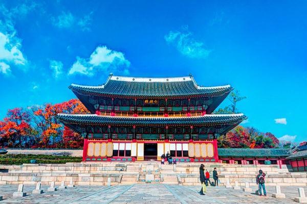 istana changdeok, wisata korea