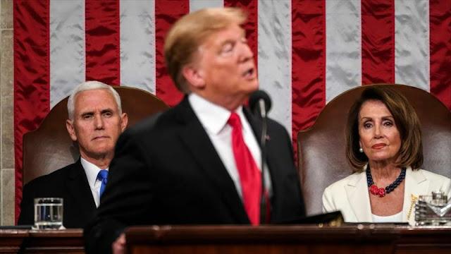 Pelosi a Trump: EEUU no tiene la responsabilidad de proteger a Riad