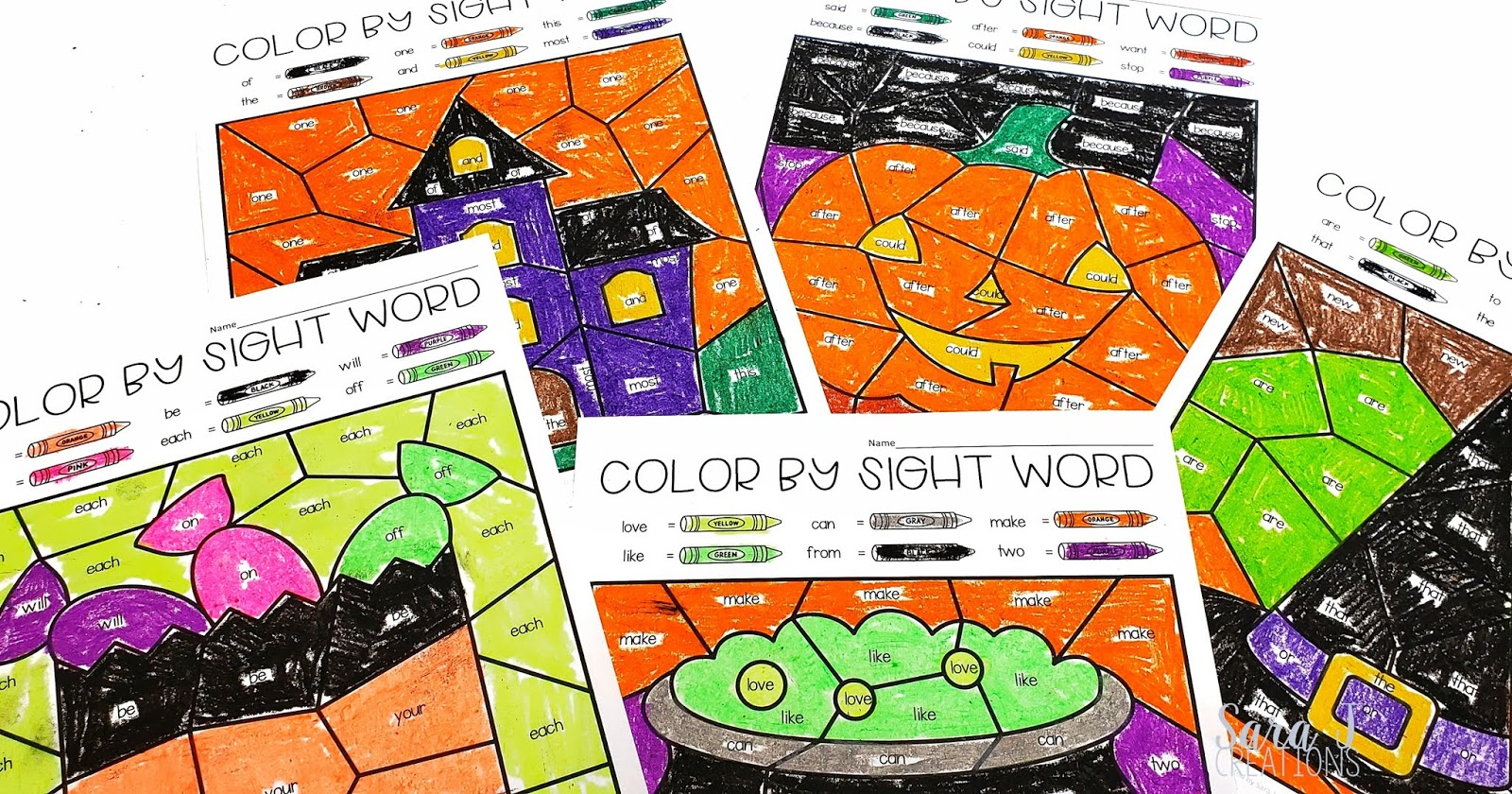 Editable Fall Color by Sight Word pages!!!! This is exactly what you need to make practicing sight words more fun this fall. You can easily differentiate for each student with a few quick clicks. Perfect for back to school, fall/autumn, Halloween and Thanksgiving.