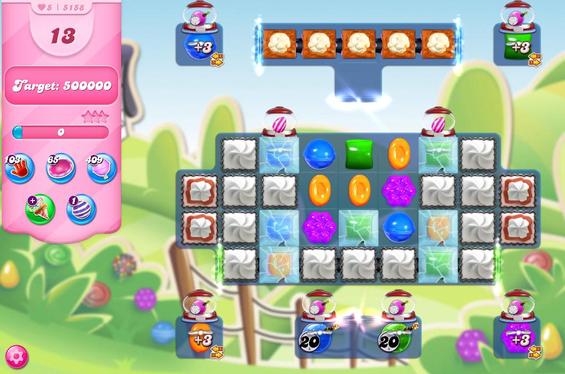 Candy Crush Saga level 5158