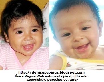 Sonrisas de bebés. Foto de sonrisas de Jesus Gómez