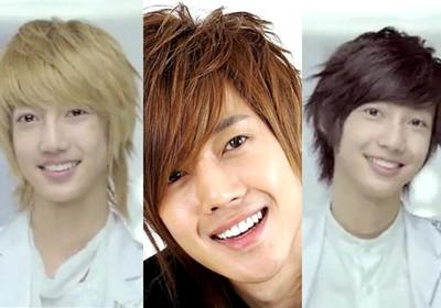 model rambut pendek pria korea