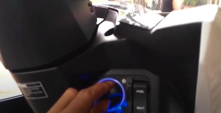 Kontak Keyless Alarm Motor