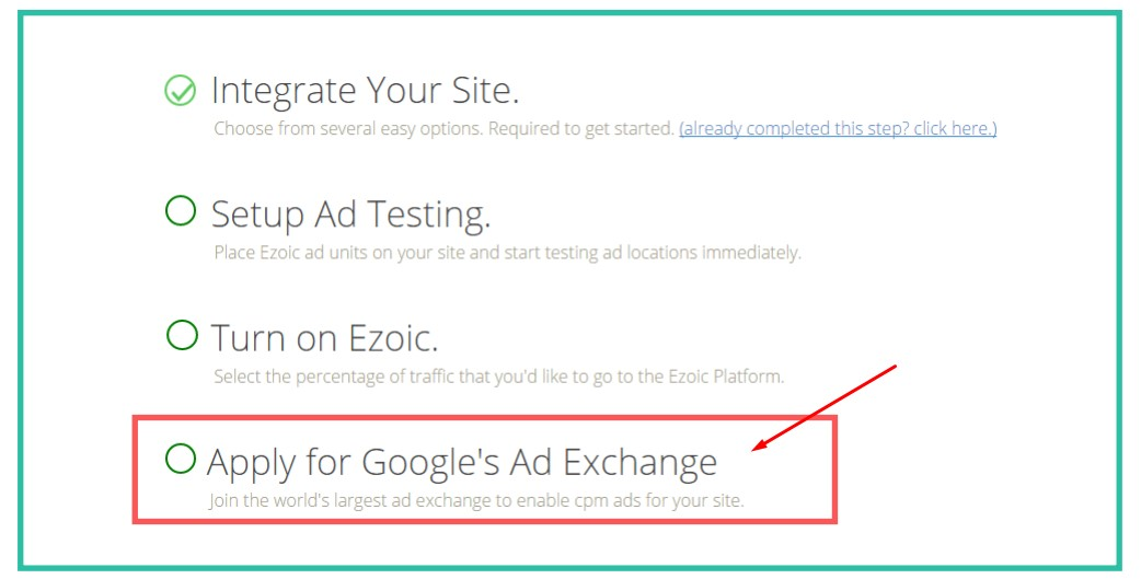 Ezoic Google Ad Exchange