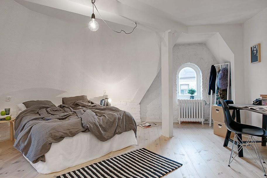 my scandinavian home a light and bright gothenburg home. Black Bedroom Furniture Sets. Home Design Ideas