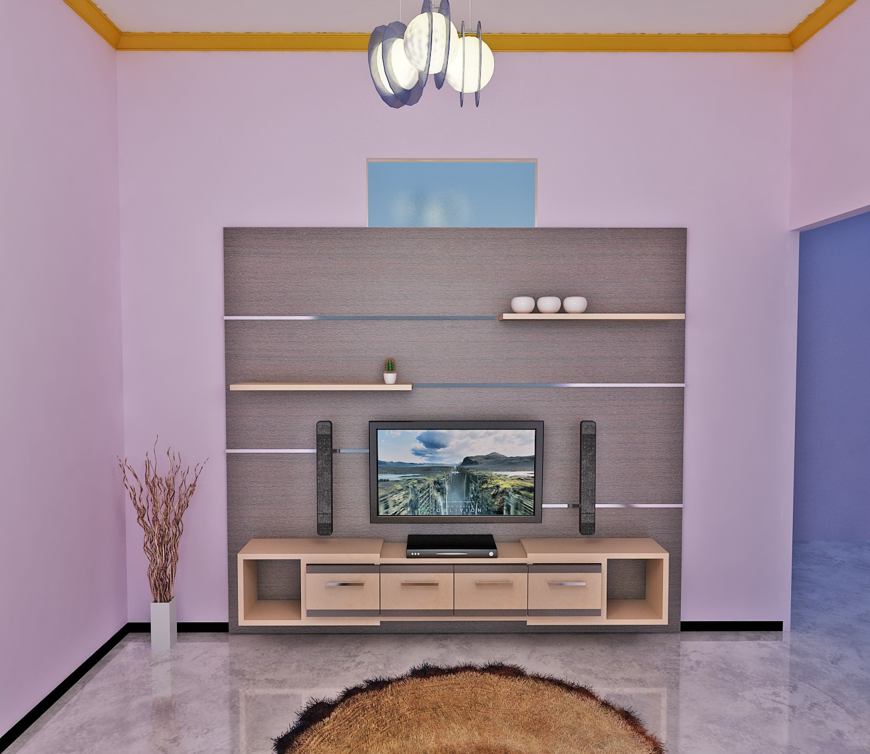 Jasa Desain Rumah: Rak TV Malang