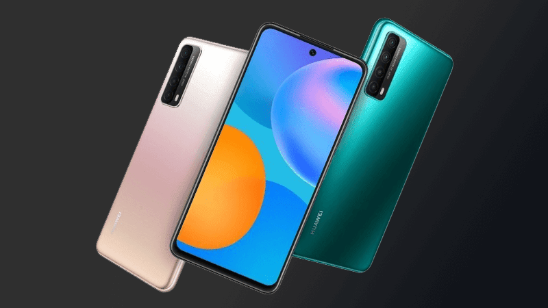 Huawei P Smart 2021 with center punch-hole now official