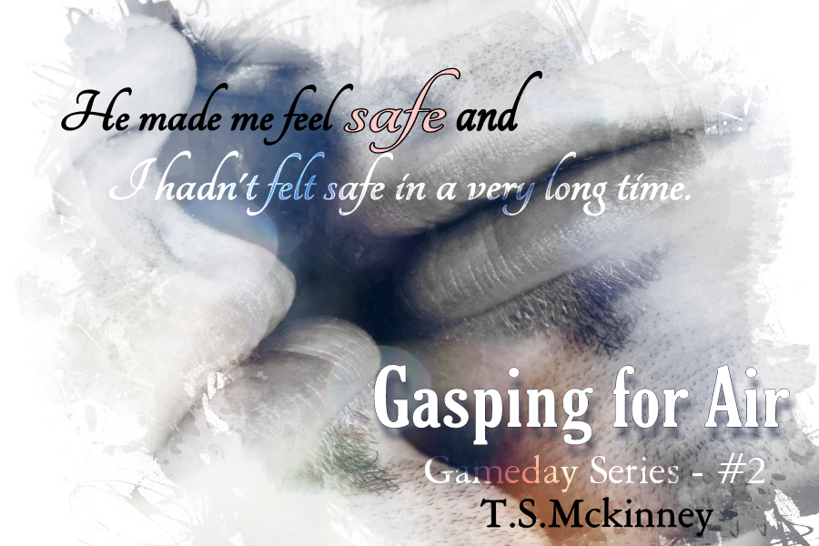 Gasping for Air by TS McKinney Release Tour, Cat's Review