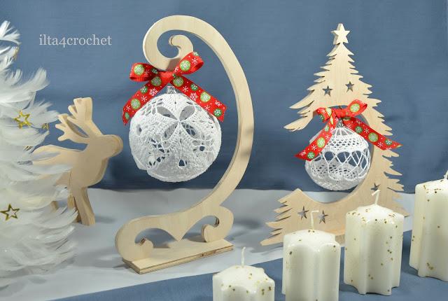 schemat bombka Boże Narodzenie święta