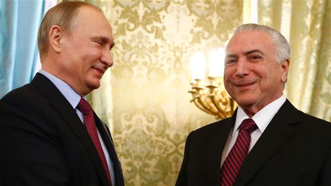 President Michel Temer: Brazil forging 'warm ties' with Russia