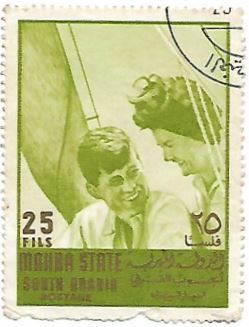 Selo John F. Kennedy e Jacqueline Bouvier