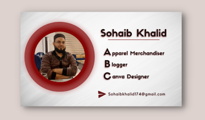 How to use circle gradient creatively in Canva for business card ??