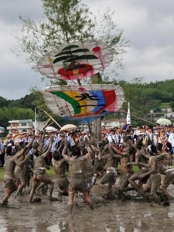 Izawano-miya Otaue-sai, Rice-planting Rites at Izawano-miya Shrine, Isobe-cho, Shima, Mie