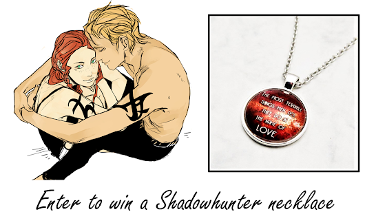 Giveaway: Enter to win a Shadowhunter necklace (Open Internationally)