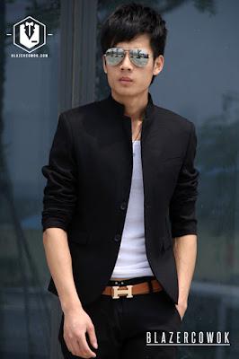 blazer cowok blazercowok.com jaket korean jas pria sk85 a