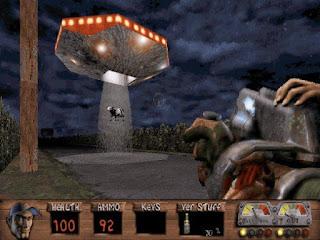 Pantallazo juego Redneck Rampage