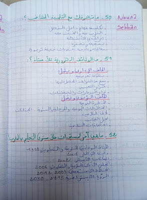 55 سؤال غالبا ما تطرح في الامتحان الشفوي