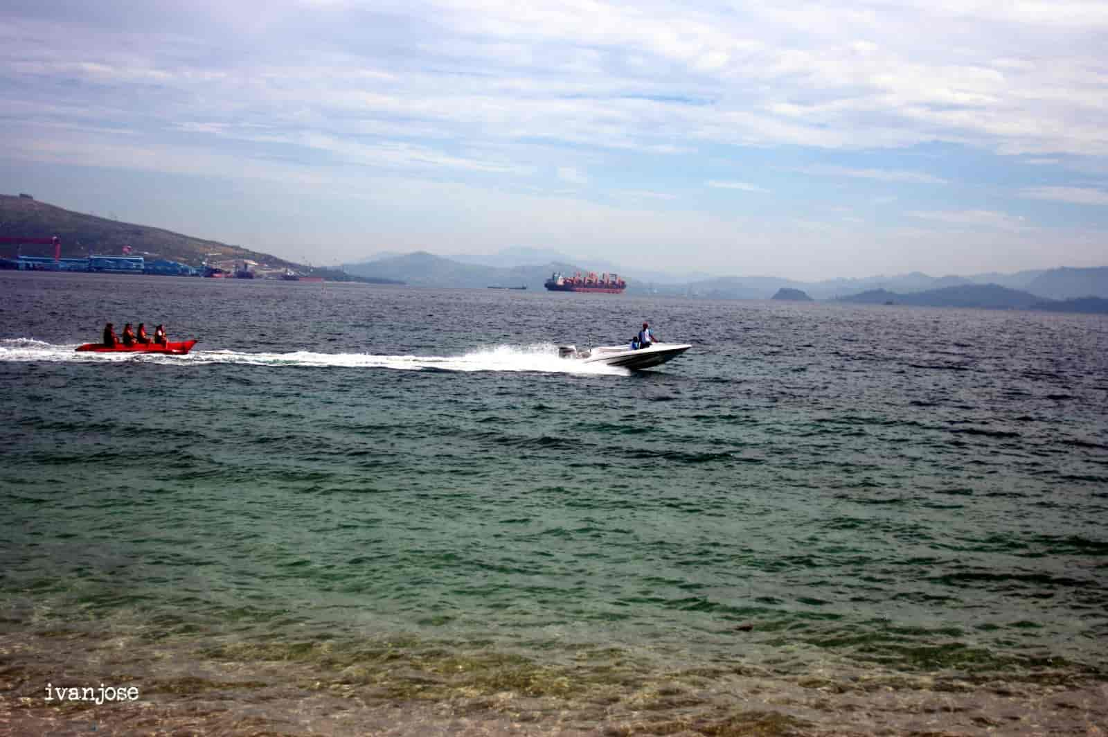 Water activities at Grande Island Resort