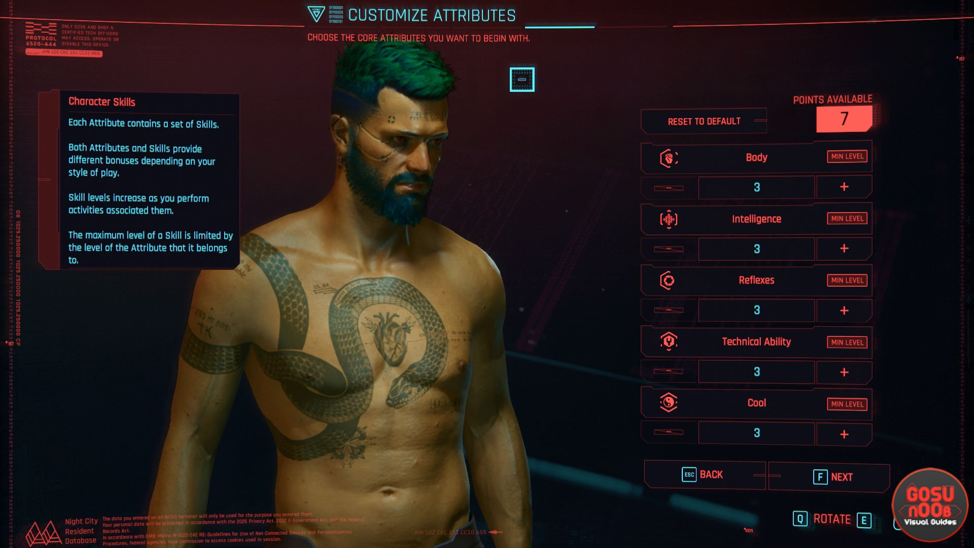 Best stats and abilities in Cyberpunk 2077