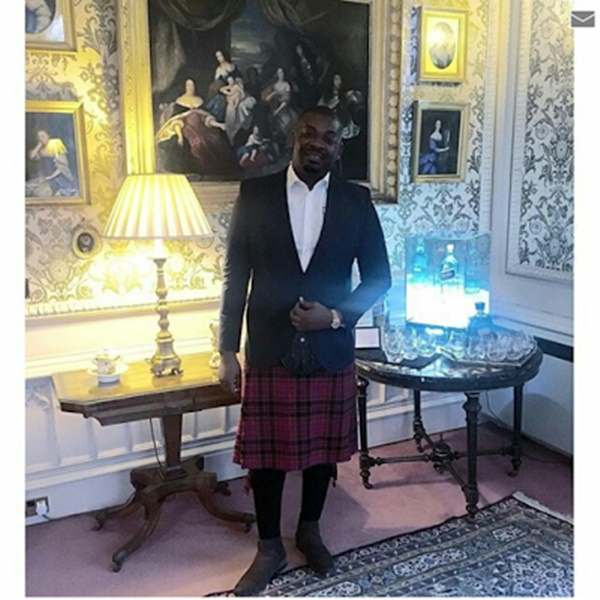 Don Jazzy in Scotland