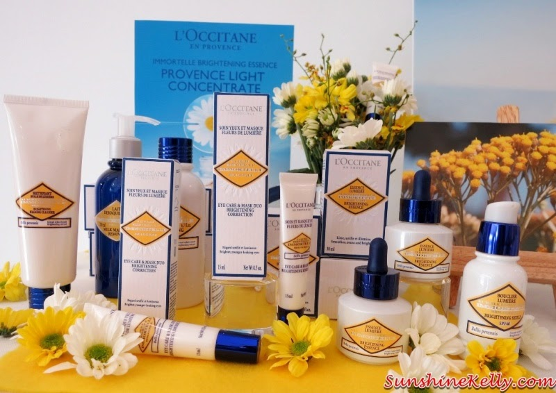 L'Occitane, L'Occitane Immortelle Brightening 2014 New Products Review, L'Occitane Immortelle Brightening Essence, new formulation, L'Occitane Immortelle Brightening Eye Care & Mask Duo Brightening Correction, L'Occitane Immortelle Brightening Touch Targeted Corrector, L'Occitane Immortelle Brightening, skincare, beauty review, face essence, eye serum, concealer, corrector