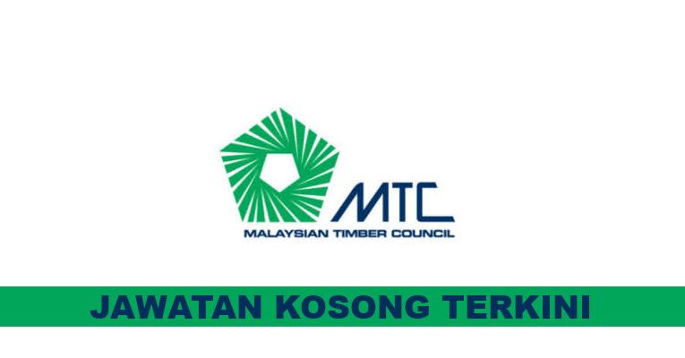 Kekosongan terkini di Malaysian Timber Council (MTC)