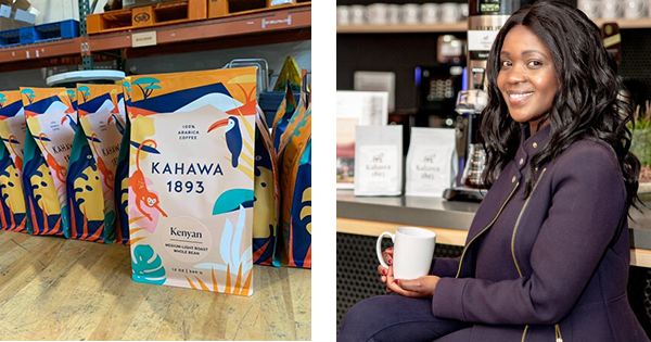 Margaret Nyamumbo, founder of Kahawa 1893 Coffee