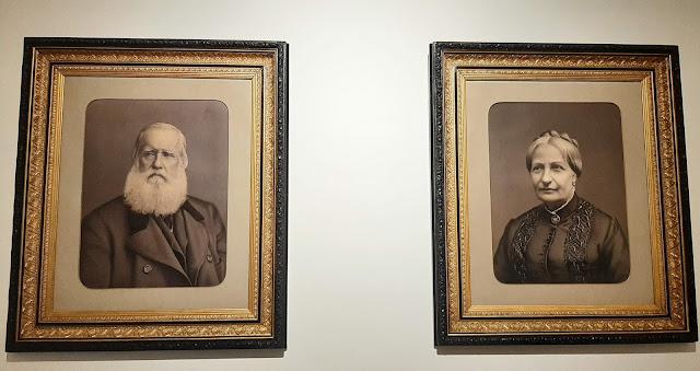 retratos de D. Pedro II e D. Teresa Cristina