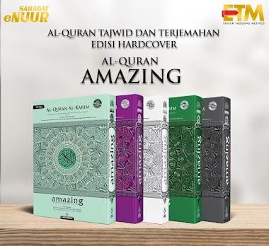 Al Quran Amazing A4 Terjemahan Per kata dan Tajwid dari Karya Bestari