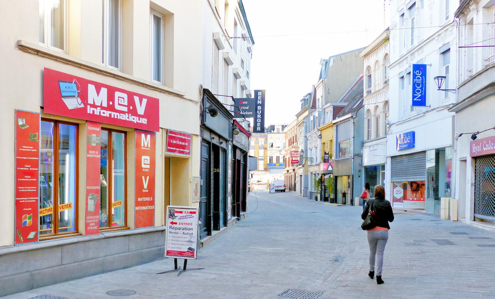 Rue de Lille, Tourcoing - MAV Informatique